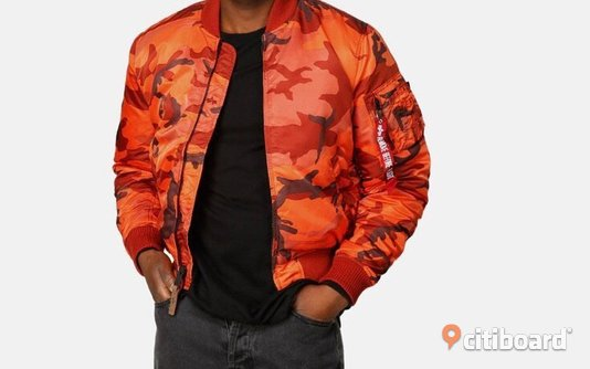 Alpha Industries bombar jacka herr