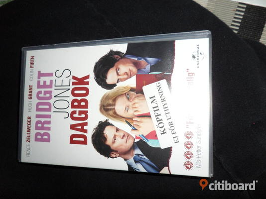 Vhs film Bridget Jones dagbok.