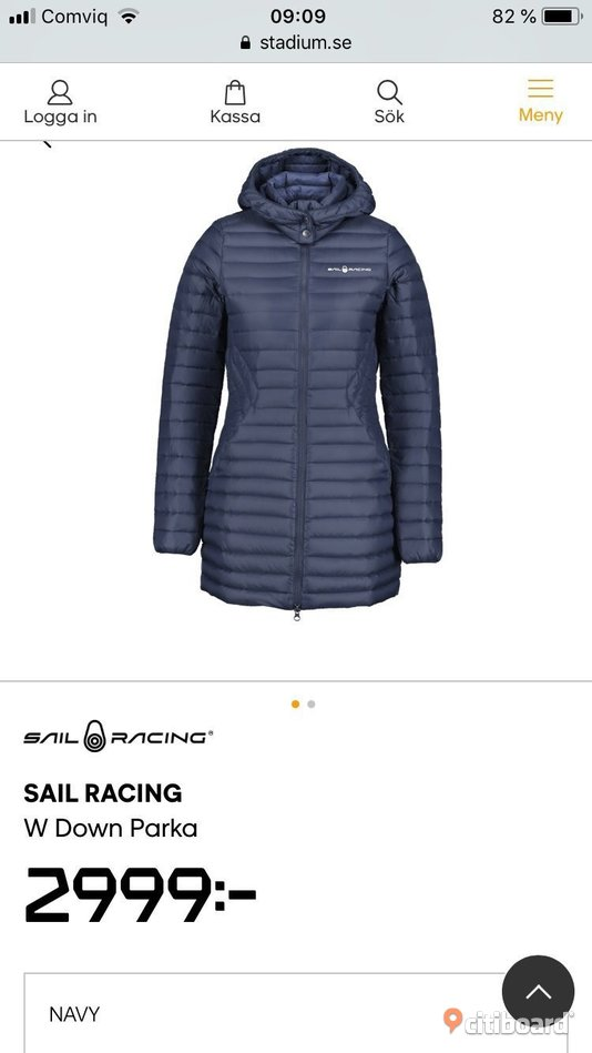 Sail Racing Jacka