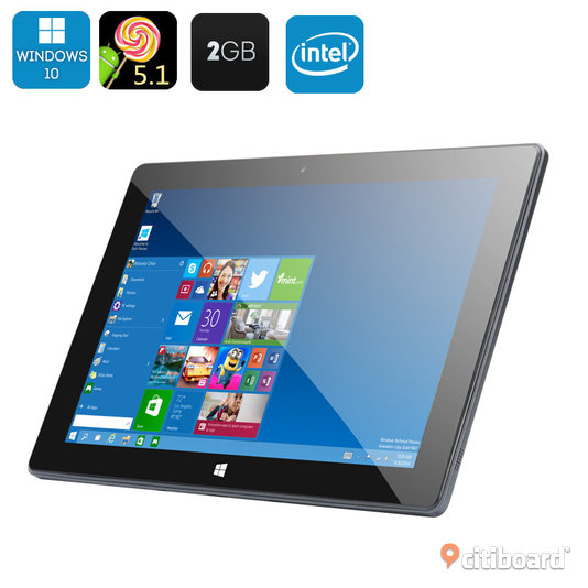 10.1 Inch Dual System Tablet PC - Windows 10 Strömstad