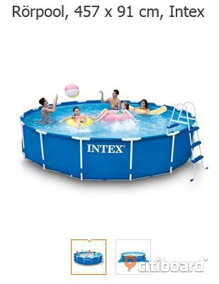 intex pool säljes