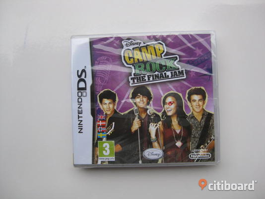 NINTENDO DS-spel. CAMP ROCK - THE FINAL JAM. DISNEY.  FRI FRAKT!