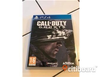 Call Of Duty Ghosts - PS4 Stockholm Sälj