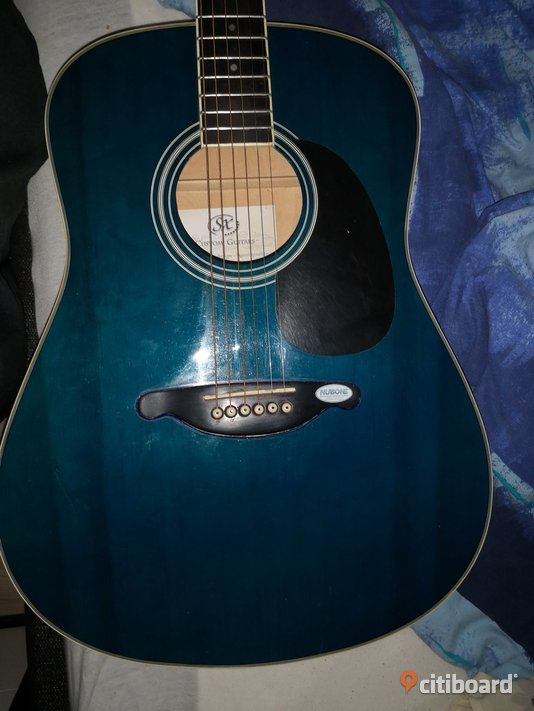 SX CUSTOM GUITAR BLUE  Piteå