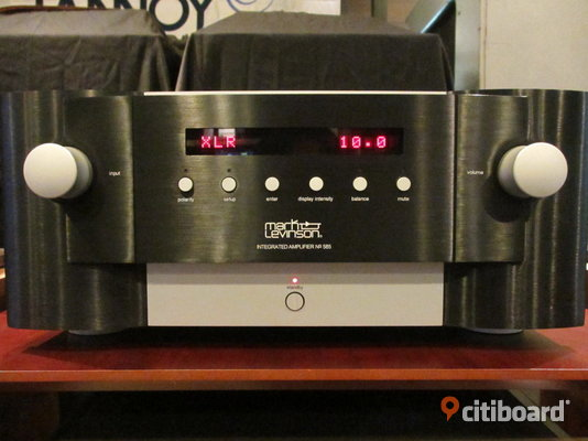 Mark Levinson No. 585 Integrated Amplifier  Stockholm