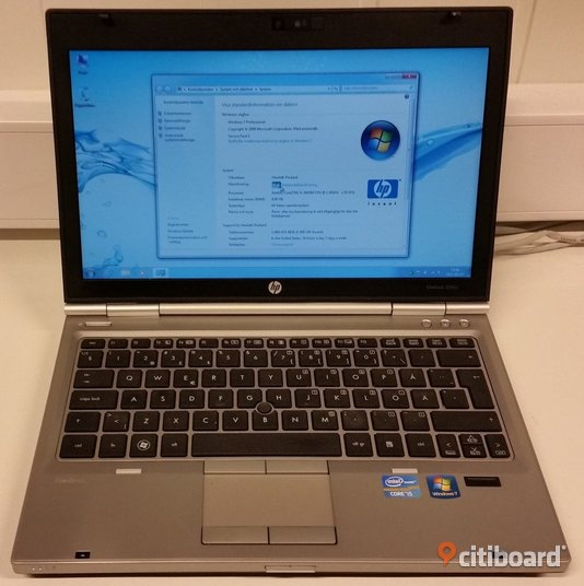 HP EliteBook 2560p - Core i5 - 8GB - 320GB Västerbotten Umeå