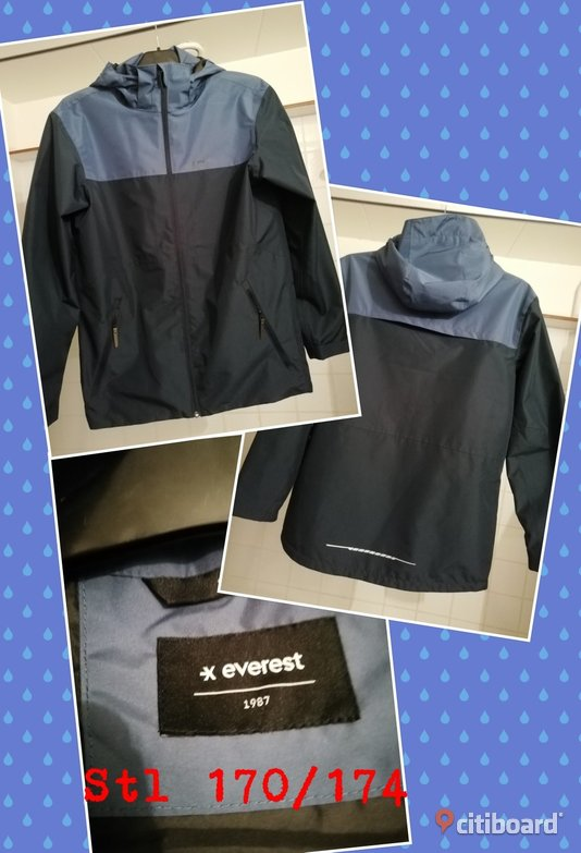 EVEREST JACKA STL 170/174 SOM NY WATERPROOF  170/174 (14-16 år) Borås / Mark / Bollebygd