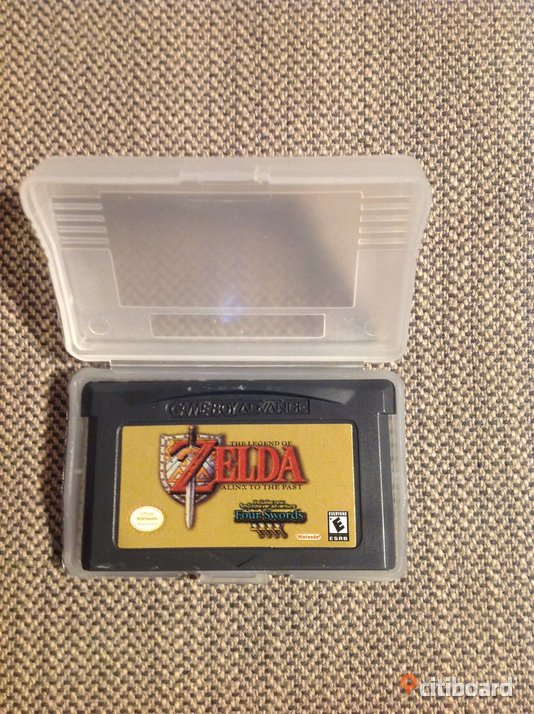 Zelda - A Link to the Past - Four Swords - GBA Fritid & Hobby Göteborg