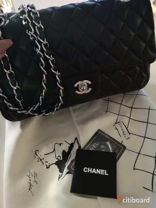 Chanel double flap bag, medium Lidköping
