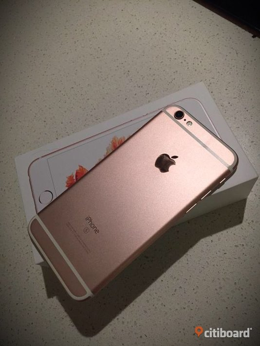 iPhone 6s rose gold 64GB bytes Nässjö Sälj