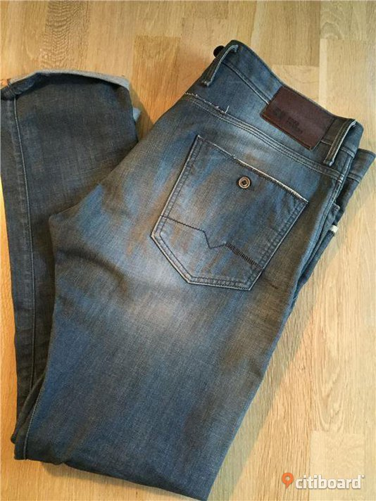 HUGO BOSS Orange Label Jeans, Regular/Slim (36/34) Midja 34-36 tum Stockholm