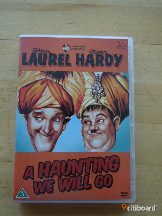 Stan Laurel & Oliver Hardy: A Haunting We Will Go Stockholm