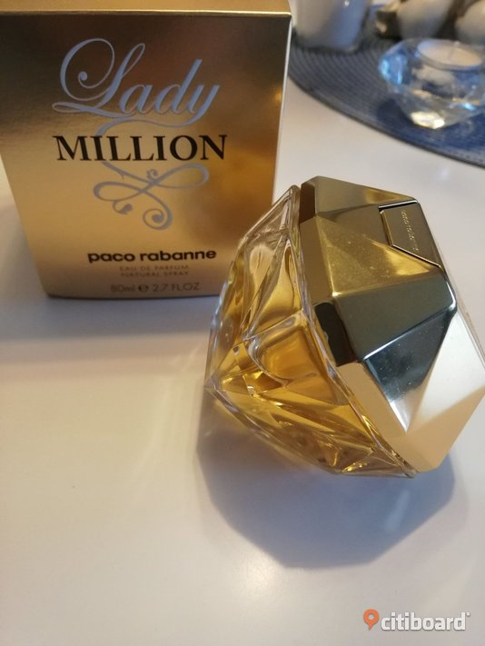 PACO RABANNE  Lady Million, EdP 80ml Västra Götaland Göteborg