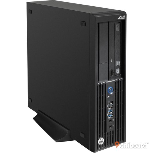 HP Z230 SFF Workstation, Xeon 3.2 Ghz, 128GB SSD