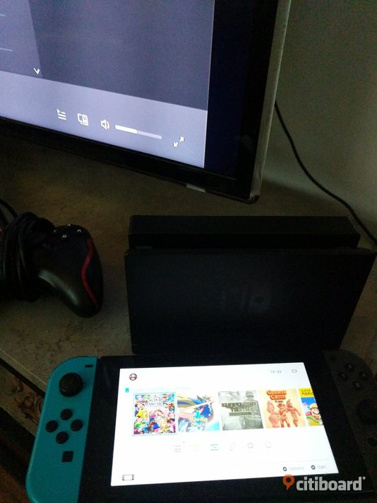 Nintendo switch Umeå