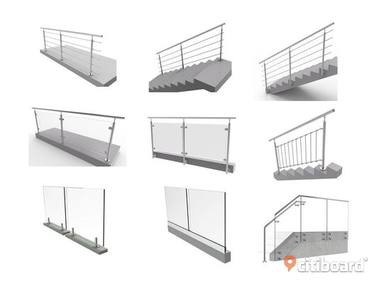 Wholesale sales of professional balustrade systems Karlshamn
