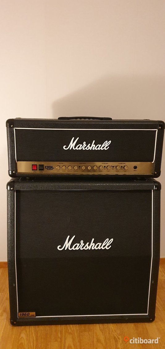 Marshall DSL100+1960 cab