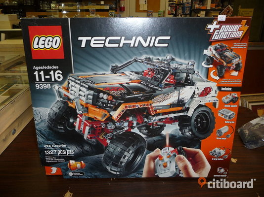 Lego technic  9398  4 by four crawler från 2012 Vaggeryd