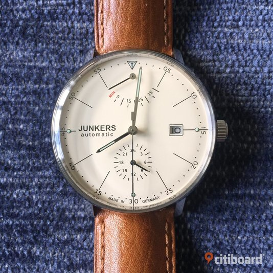 Junkers Men's Analogue Automatic Watch 60605 Göteborg