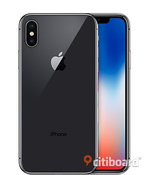 iPhone X smartphone 256GB NY OÖPPNAD!