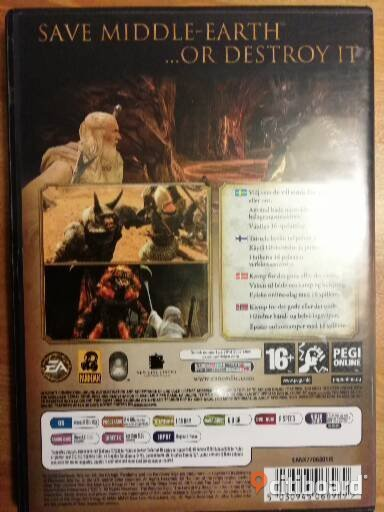 The Lord of The Rings: Conquest PC Komplett med manual Västra Götaland Kungälv