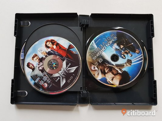 DVD-film: X-men BOX Ultimate Collection Fritid & Hobby Mjölby