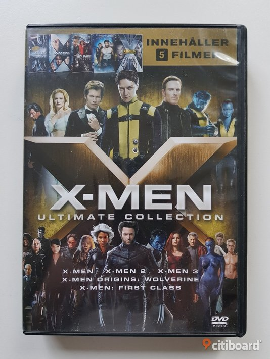 DVD-film: X-men BOX Ultimate Collection Östergötland Mjölby