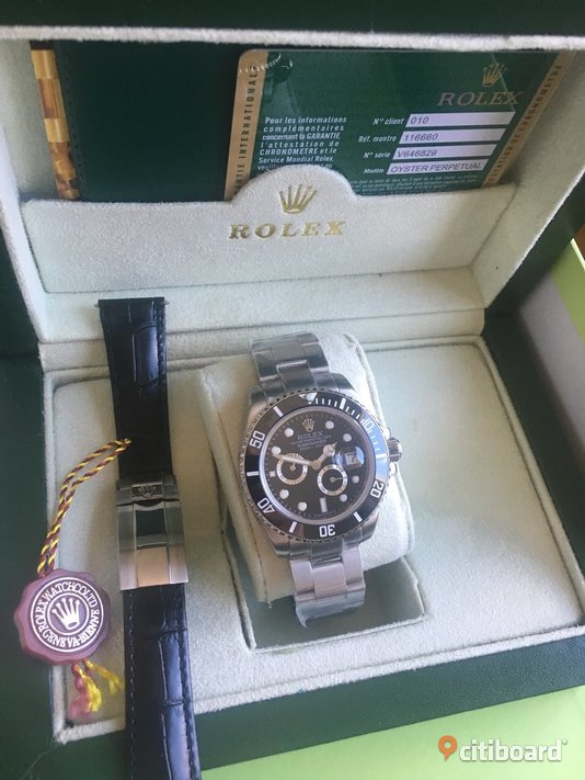 Rolex submariner Uppsala