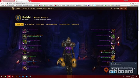 world of warcraft account Eskilstuna