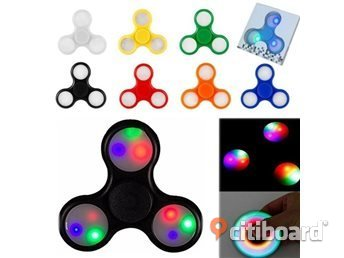 Ny led Finger spinner Stockholm