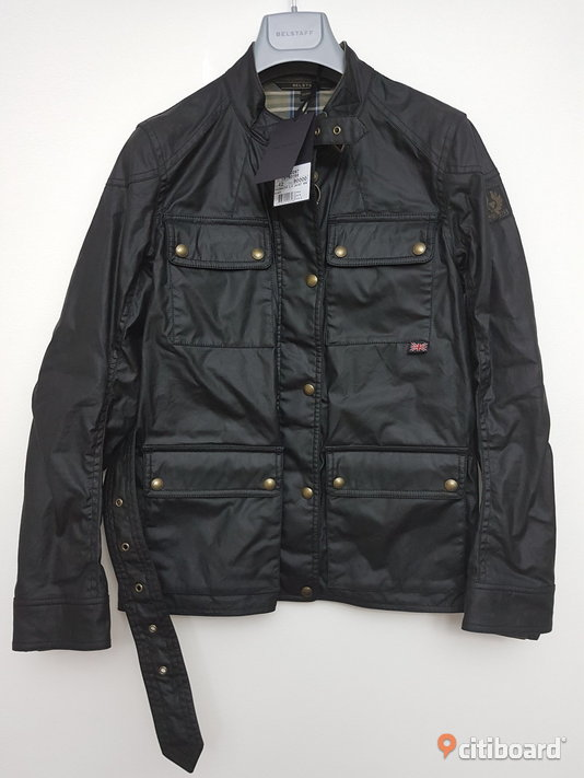 Belstaff Woman Roadmaster Waxed Jacket Black Strl M