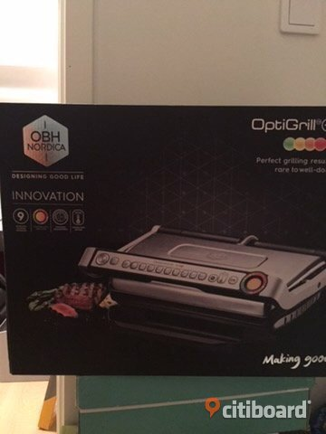 OBH Nordica Optigrill+ bordsgrill