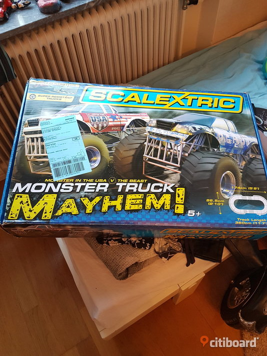 Ny! Scanextric bilbana Monstertruck