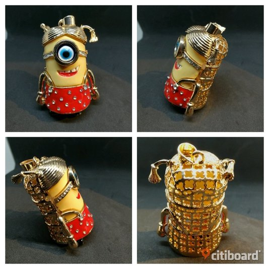 MINION GIRL PENDANT - Red Lindesberg Sälj