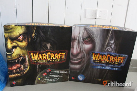 Warcraft the Board Game inkl. expansion Nyköping / Oxelösund