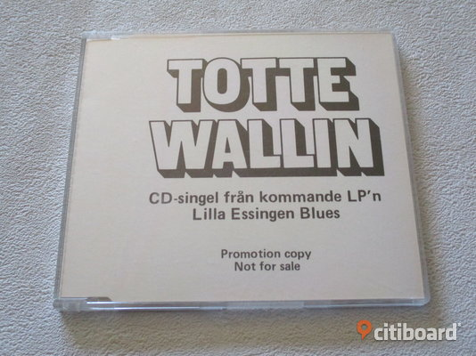 Totte Wallin. Sportbil i Natten. PROMO Cd. Eagle Records. Eslöv