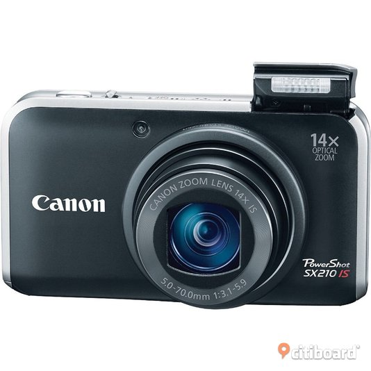 Canon power shot sx210is