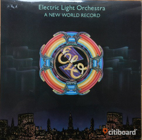 ELO - A New World Record, Vinyl, LP, Electric Light Orchestra Umeå