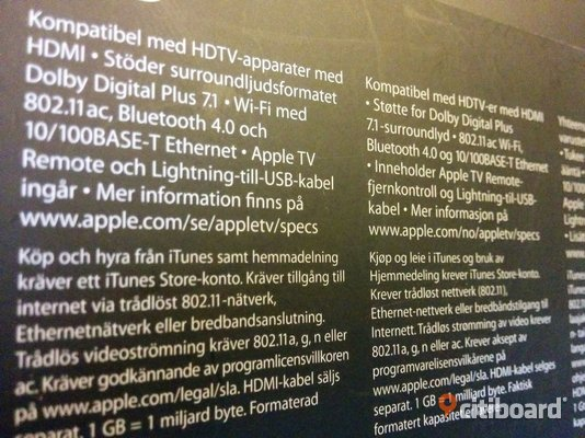apple tv 32gb Huddinge