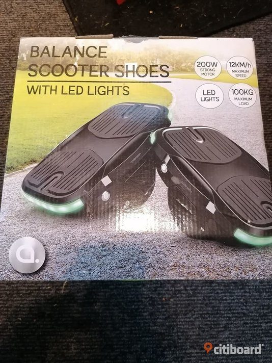 Balance Scooter Shoes, With lights Varberg