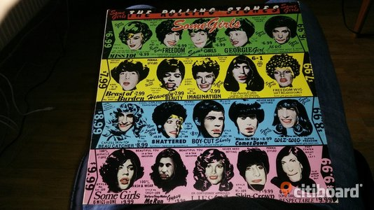 The Rolling stones - Some girls vinyl 1978 Mora