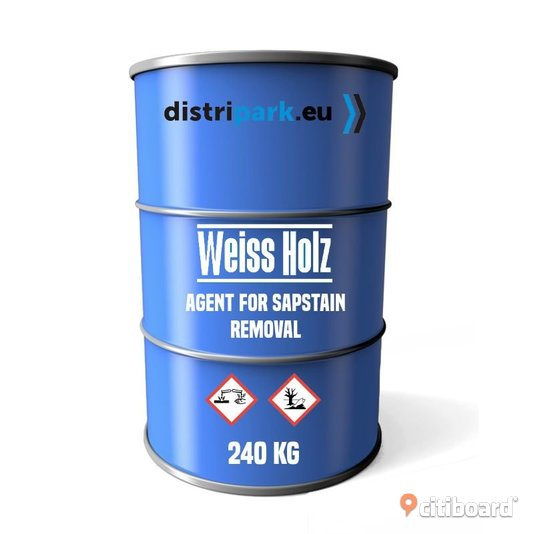 Weiss Holz - agent for effective wood sapstain removal 240kg Botkyrka