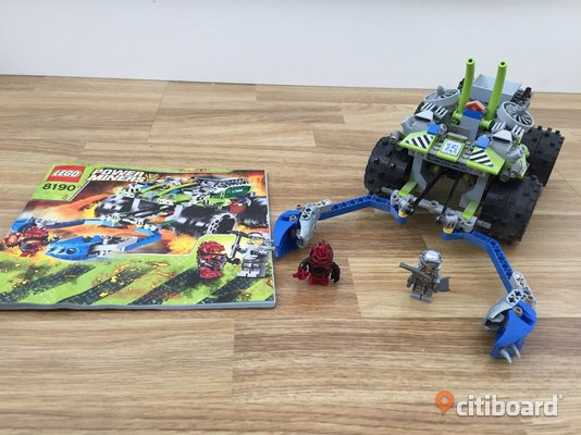 Lego Power Miners - Nr 8190 Borgholm
