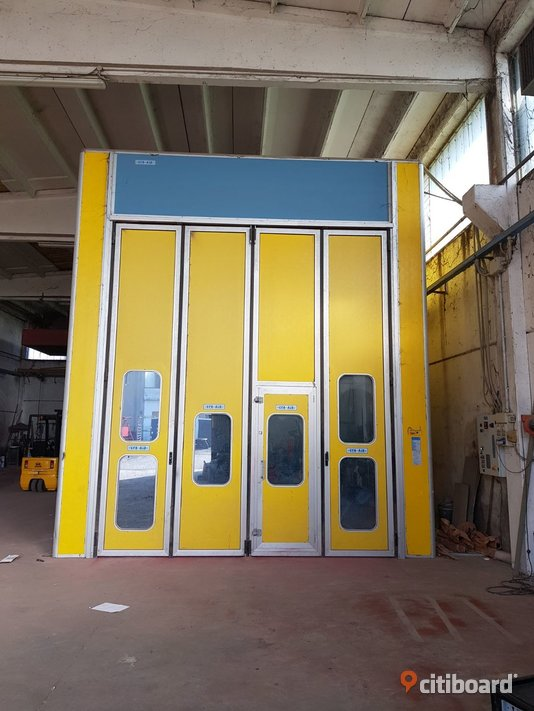 Used paint booth size 12x5x5 meters (n.6) Stockholm Sälj
