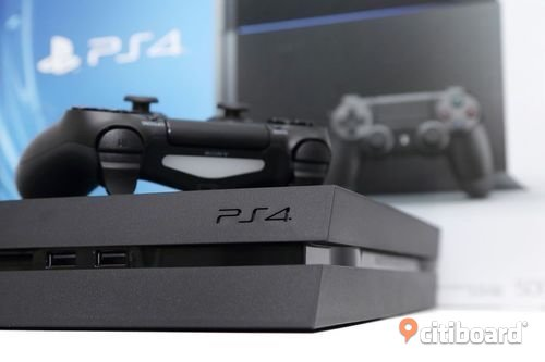 Playstation 4 Jet Black 500GB Haninge