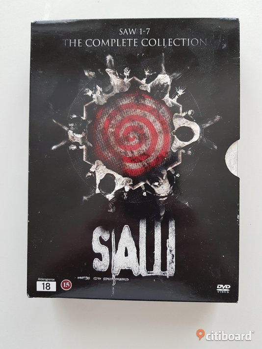 SAW 1-7 THE COMPLETE COLLECTION - UTGÅTT / OOP Mjölby