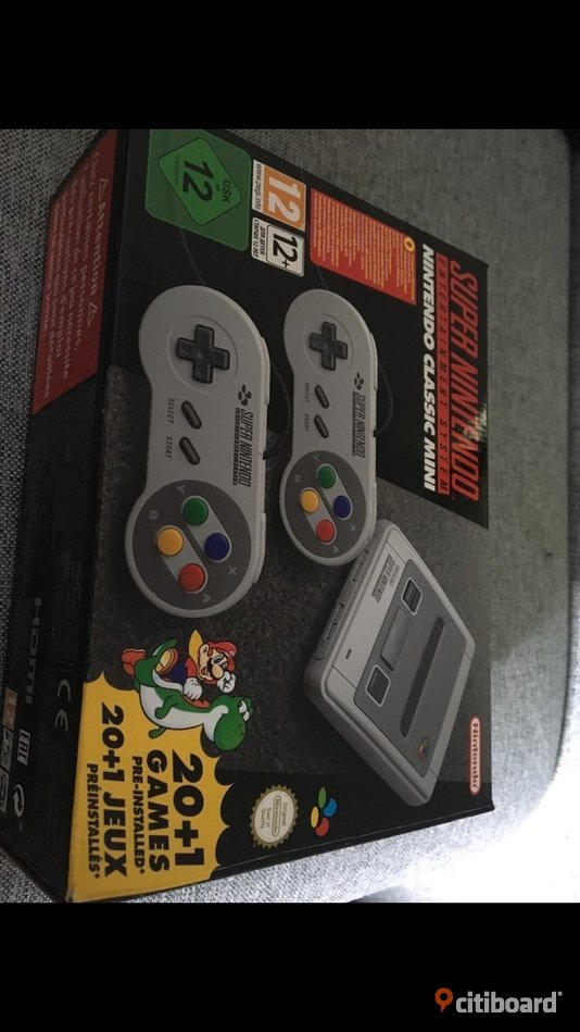 Supernintendo mini SÄNKT PRIS!!