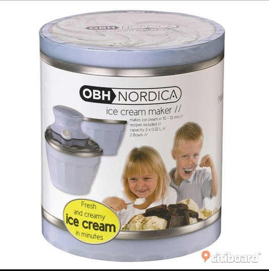 OBH Nordica Ice cream maker Staffanstorp