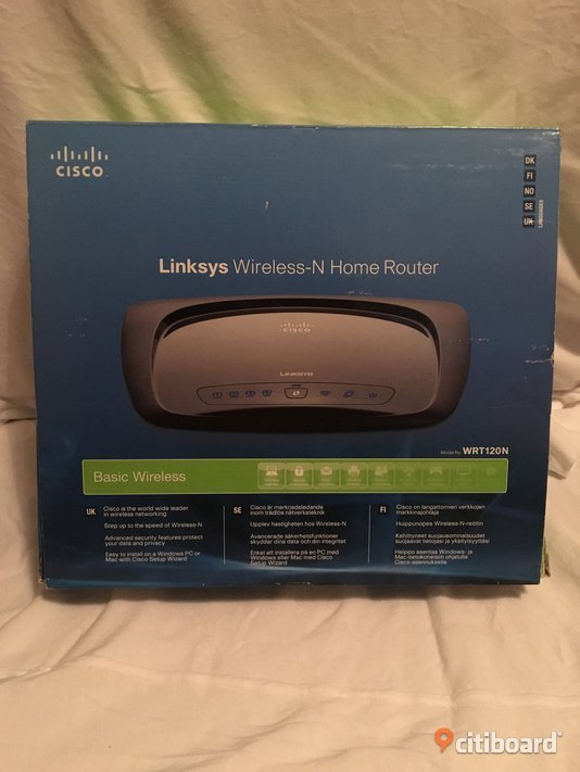 Cisco Wireless-N home router  Staffanstorp