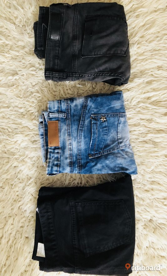 3 par jeans  Midja 29-30 tum Halmstad